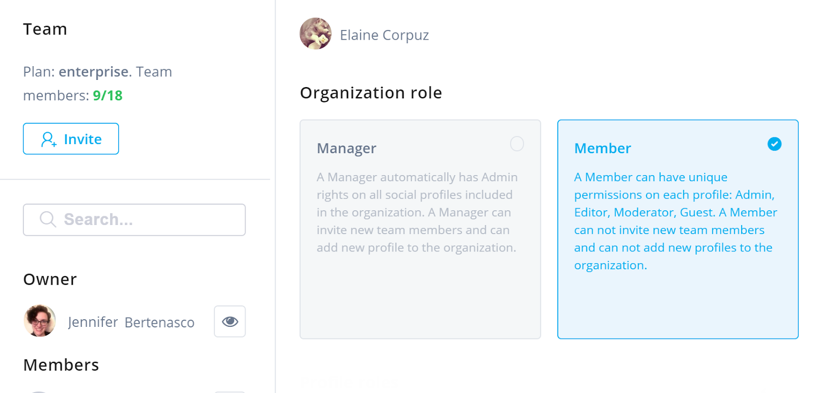 Social Management Software